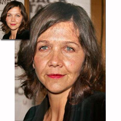 Maggie gyllenhaal breast